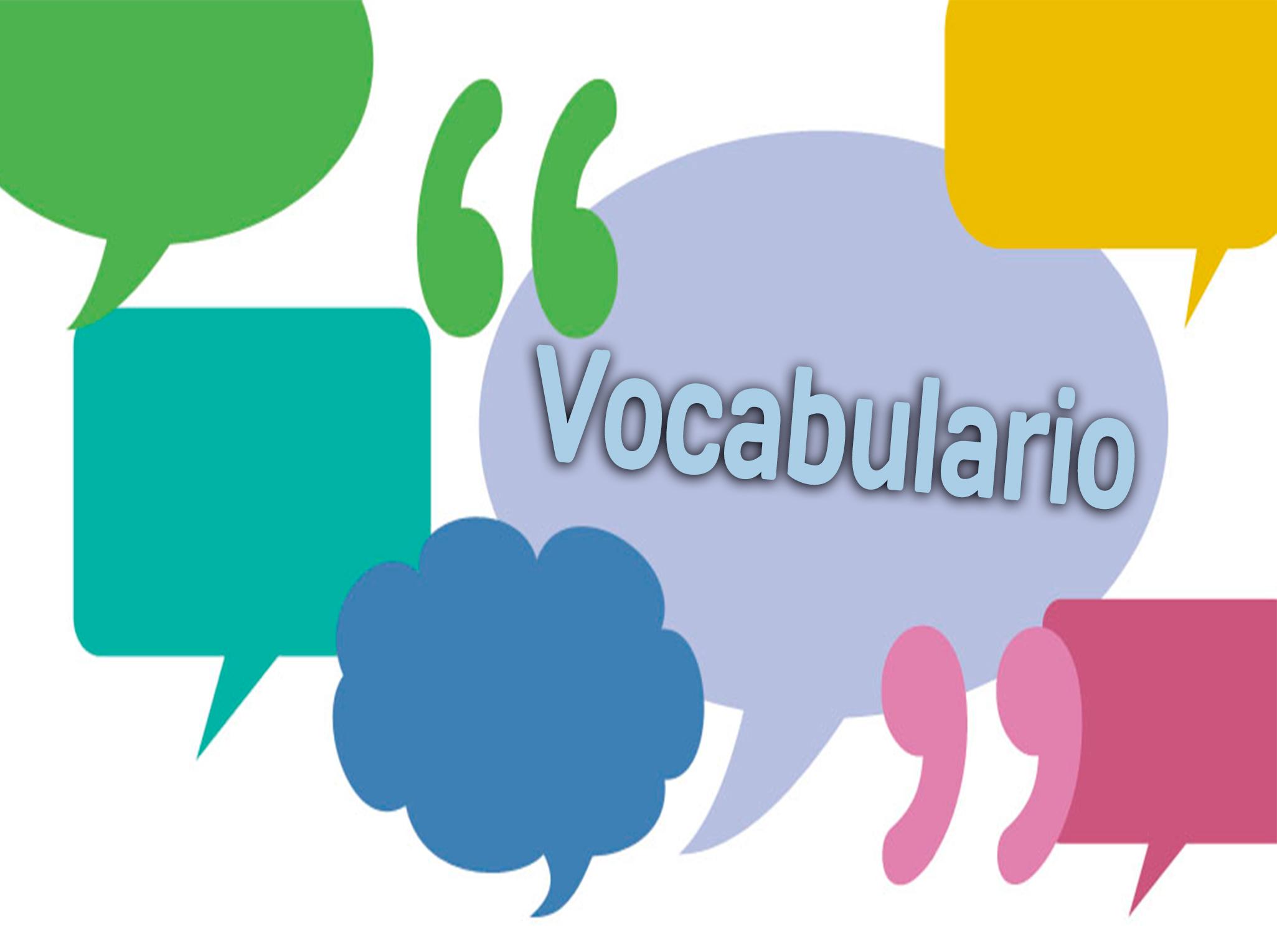 vocabulario sígueme el rollo