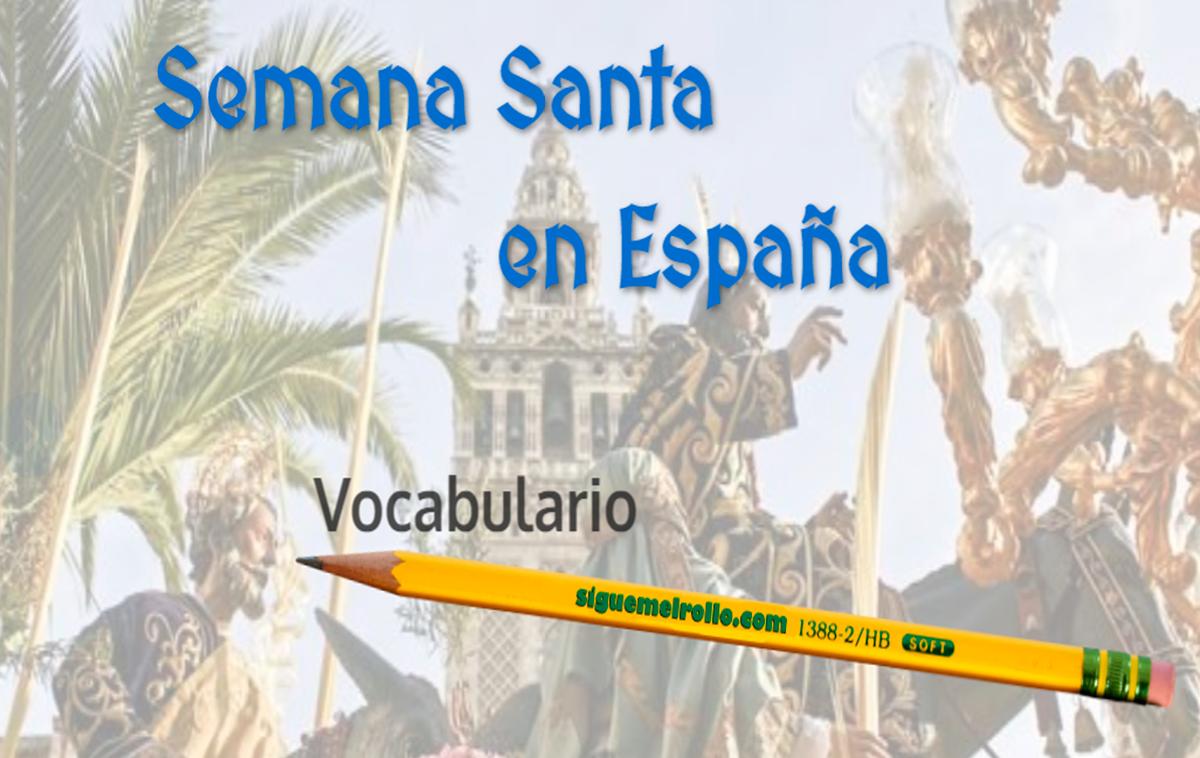 Semana Santa vocabulario